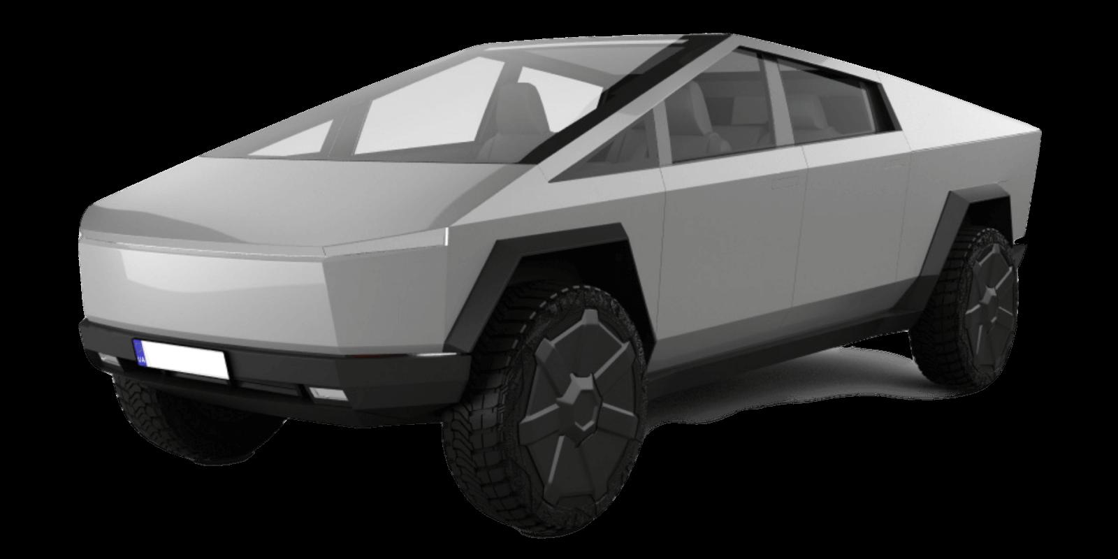 Tesla Cybertruck Tri Motor AWD